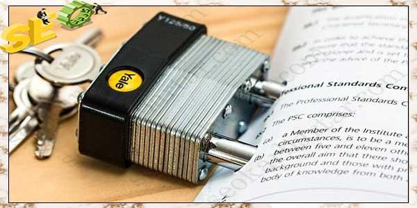 قفل تولید محتوا